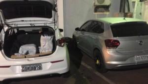 Morador de Serranópolis é preso pela Pol. Civil com 730 kg de maconha em veículo furtado -