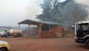Indústria de cerâmica é atingida por incêndio em Itaipulândia -