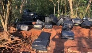 Itaipulândia: Duas pessoas são presas e cinco veículos são apreendidos com contrabando -