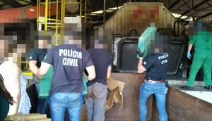 Polícia Civil de Matelândia incinera mais de 4 toneladas de drogas -
