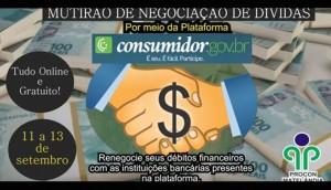 Procon de Matelândia realiza mutirão online de renegociação de dívidas -