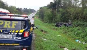 Professor da UTFPR de Medianeira morre em acidente na BR 277 na cidade de Palmeira -
