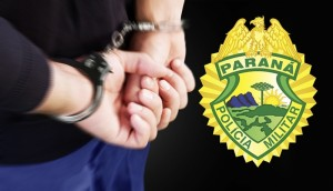 Serranópolis: Motociclista ferido em acidente é preso pela PM em cumprimento à mandado de prisão -