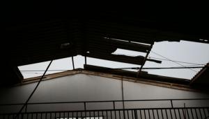 Ventos fortes causaram estragos em Itaipulândia e Missal -