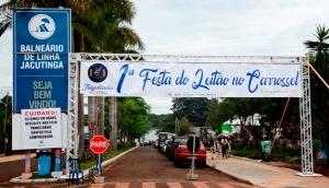 Confira como foi a 1ª Festa do Leitão no Carrosselem Itaipulândia -