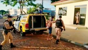 Medianeira: Polícia Militar prende foragido da justiça de alta periculosidade -