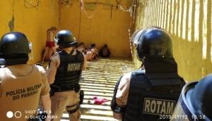 Medianeira: ROTAM e CHOQUE são acionados após princípio de rebelião na cadeia -