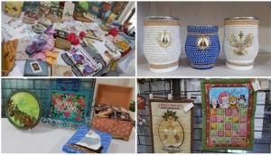 Grupo de artesãs promove feira com produtos exclusivos, conheça as novas técnicas -