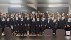 OAB Medianeira realiza compromisso de novos advogados -