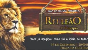 Casa da Cultura de Matelândia apresenta: Rei Leão, o princípio -
