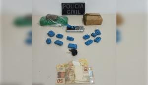 Matelândia: Homem é preso e droga é apreendida em ação conjunta das polícias Civil e Militar -