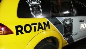 ROTAM recupera Hilux que havia sido roubada em Medianeira -