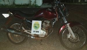 Medianeira: Dupla em moto realiza assalto no centro durante a madrugada; um foi preso pela PM -