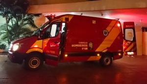 Serranópolis: Homem é socorrido vítima de ferimento causado por arma branca -