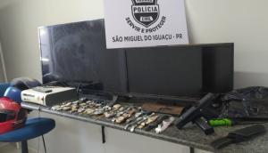 São Miguel: Polícia Civil faz operação e apreende menor e prende maior suspeitos de furtos e roubos -
