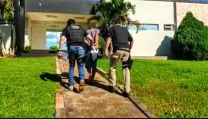 Itaipulândia: Acusado de roubo é preso pela Polícia Civil  em cumprimento de mandado de prisão -