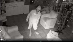 Câmeras de segurança flagram ação de bandidos em Céu Azul -