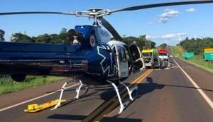 Céu Azul: Uma pessoa morre e cinco ficam feridas em acidente na BR 277 -