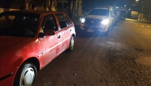 Matelândia: ROTAM recupera veículo com alerta de furto/roubo e detém duas pessoas -