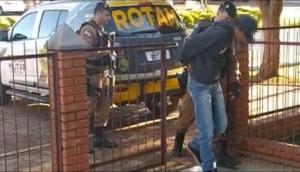 ROTAM cumpre mandado de prisão em Itaipulândia -