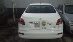 Medianeira: Veículo levado em assalto é recuperado pela Polícia Militar -