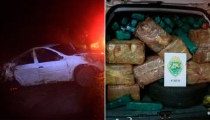 Vera Cruz do Oeste: Após tentar fugir de abordagem, homem é preso com 281 kg de maconha -