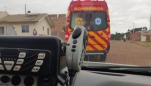 Medianeira: Policiais militares salvam vida de bebê que havia se engasgado -
