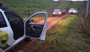 RPA de Matelândia recupera dois veículos roubados em Medianeira e prende três pessoas -