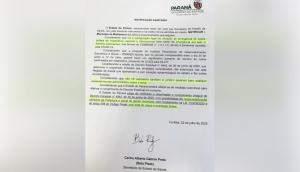 Medianeira: Município é notificado pelo Estado para que cumpra o decreto com medidas restritivas relacionadas a Covid-19 -