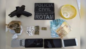 Polícia Civil e Militar de Matelândia realizam Operação de combate ao Tráfico de Drogas -