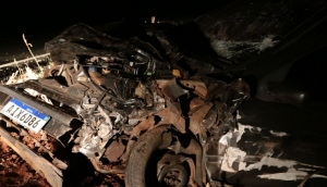 Grave acidente é registrado na estrada da Santa em Itaipulândia; Uma vítima foi transferida para Foz do Iguaçu -