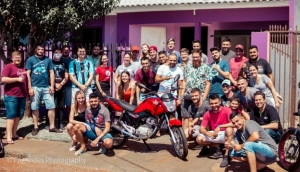 Medianeira: Amigos se mobilizam para reformar moto de entregador que sofreu grave acidente -