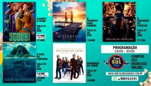 Cine Sul Cinemas: Confira a programação do dia 24 ao dia 30 de setembro -