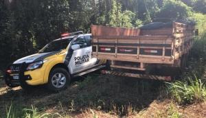 Missal: F4000 furtada no sábado é recuperada pela Polícia Militar -