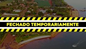 Itaipulândia: Balneário Jacutinga será fechado por 15 dias -