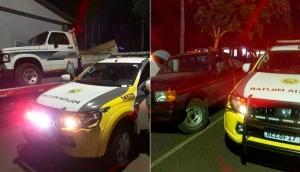 Missal: PM recupera duas caminhonetes que haviam sido roubadas -
