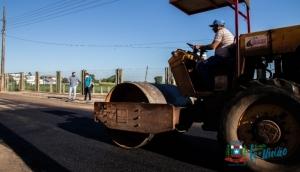 Nos últimos 02 anos foram viabilizados mais de 12 milhões de reais em pavimentação em Missal -