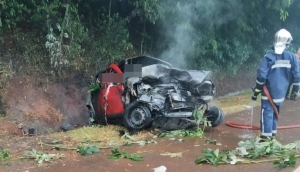 Identificadas vítimas que morreram no grave acidente na BR 277 em São Miguel do Iguaçu -