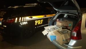 PRF apreende 126 quilos de maconha em Matelândia -
