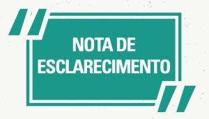 NOTA DE ESCLARECIMENTO - Secretaria Municipal de Educação de Missal -