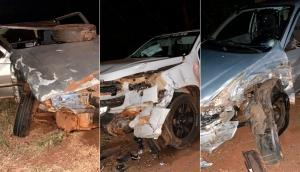 São Miguel: Grave acidente envolvendo três veículos é registrado na PR 497 -