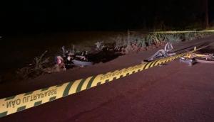 São Miguel: Idoso morre em acidente envolvendo bicicleta e moto -