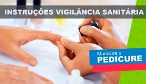 Vigilância em Saúde de Missal orienta população quanto à procura de manicures e pedicures com serviço legalizado -