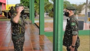 Tiro de Guerra recebe visita do Comandante da 5ª Região Militar -