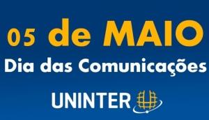 Hoje é Dia da Comunicação, e a UNINTER dá os Parabéns aos Comunicadores -