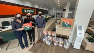Cresol Coopera: Campanha visa arrecadar alimentos para famílias carentes através do cooperativismo  -