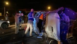 Grave acidente é registrado na BR 277 em São Miguel do Iguaçu -