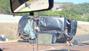 Matelândia: Morador de Santa Catarina morre ao capotar veículo na BR 277, no domingo (30) -