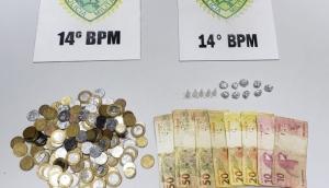 Polícia Militar prende indivíduo por tráfico de drogas em Medianeira -
