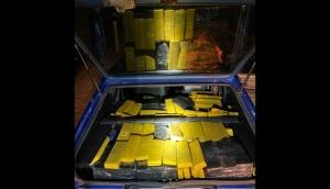 Matelândia: PRF apreende mais de 400 kg de maconha em veículo abandonado -